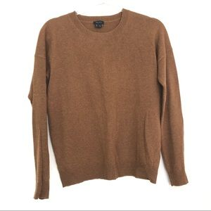 Theory Brown 100% Cashmere Sweater Size S